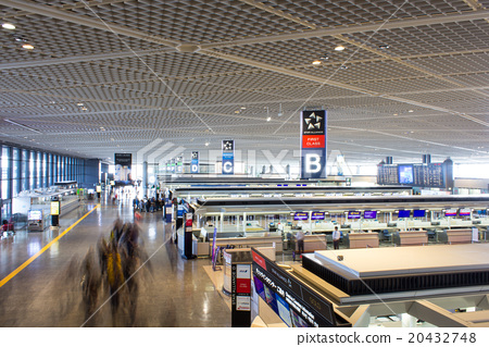 Narita Airport Terminal 1, International Departure Lobby (Check-in Counter), South Wing 20432748