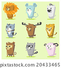 Cute Animals  Icon Set 3 20433465