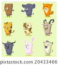 Cute Animals  Icon Set 4 20433466