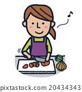 烹飪 夫人 女士 20434343