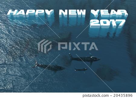2017年新年賀卡進展緩慢 20435896