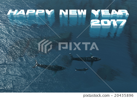 2017 New Year's cards go slowly 20435896