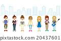 女性 女 女人 20437601