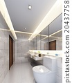 3d rendering of interior bathroom  20437758