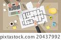 Construction engineer desktop 20437992