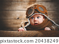 cute pilot aviator baby newborn 20438249