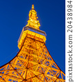 Tokyo Tower in twilight time 20438984