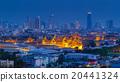 Grand Palace at twilight Bangkok, Thailand 20441324