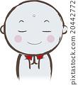 地藏菩萨 石像 合掌祷告 20442772