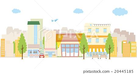 以商店為中心的城市 20445185