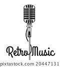Vintage Microphone 20447131