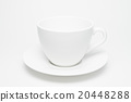 coffee cup isolated on white. 20448288
