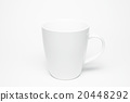 coffee cup isolated on white. 20448292