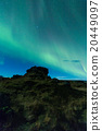 Aurora borealis in Iceland 20449097