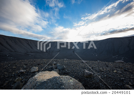 Crater landscape in Iceland volanic area 20449101