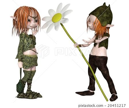 Goblin Valentine's Day Flower 20451217
