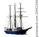 水手 帆船 船 20452340