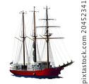 水手 帆船 船 20452341