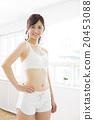运动服 运动装 女性 20453088