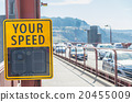 Your speed sign on the bridge 20455009