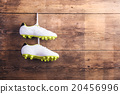 Football shoes on the floor 20456996