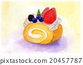 瑞士卷 果凍卷 夾心蛋糕 20457787