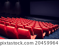 movie theater or cinema empty auditorium 20459964