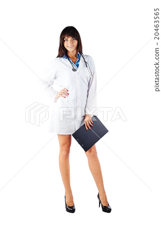 Portrait of a doctor 20463565