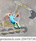 boy, dipper, drawing 20470736