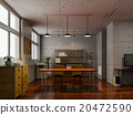 办公室 一间办公室 房间 20472590