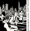 Jazz band playing in New York 20474620