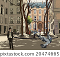 Furstemberg square in paris 20474665