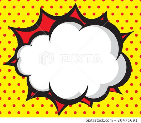 Speech Bubble Pop Artcomic Book Background