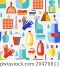 Cleaning products seamless pattern. 20479911