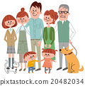 family, household, three generation family 20482034