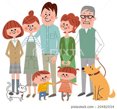 家庭 家族 家人 20482034