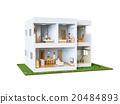 家 二層建築 房屋 20484893