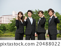 Fresh business team image 20488022