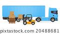 卡车 货物 半 20488681