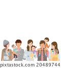 育儿 插图 家庭 20489744