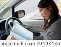 駕駛 事業女性 商務女性 20493436