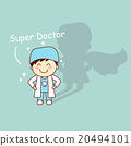 Super health cartoon tooth dentist 20494101