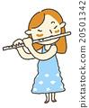 연주, 아이, 어린이 20501342