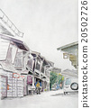 scene, illustration, street 20502726