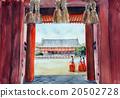 헤이안 진구의 필기 스케치 무녀 20502728