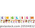 字母 較年輕 兒童 20504832