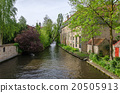 Canal in Bruges 20505913