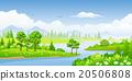 Panorama summer landscape 20506808