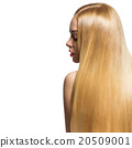 Girl with long hair 20509001