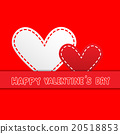 valentine's greeting card knitting style 20518853